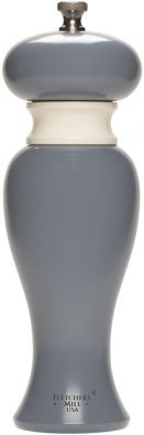 Fletchers Mill Faris Collection 8-in Pepper Mill, Slate Blue