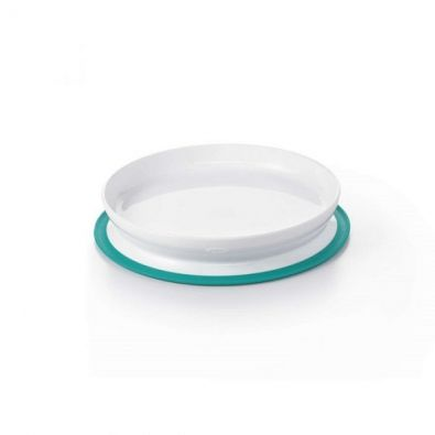 OXO Tot Stick and Stay Plate Teal