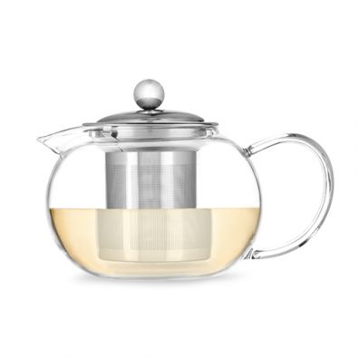 Pinky Up Candace Glass Tea Pot & Infuser