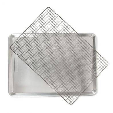 Nordic Ware Natural Big Sheet with Oven-Safe Grid