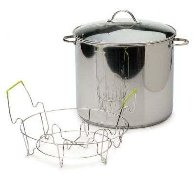 Endurance Stainless Steel 20 Qt Stock Pot and Canner