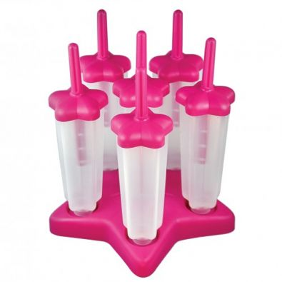 Tovolo Set of 6 Star Pop Molds