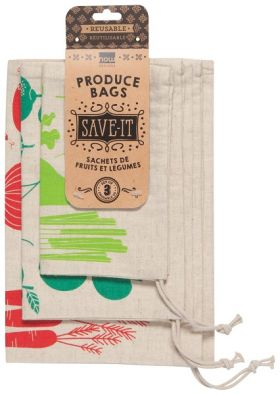 Save-It Produce Bags, Set of 3