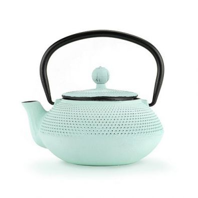 Pinky Up Miko Mint Cast Iron Tea Pot