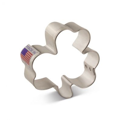 Mini Shamrock Cookie Cutter 8341A