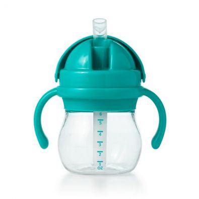 OXO Tot Transitions Straw Cup with Removable Handles Teal