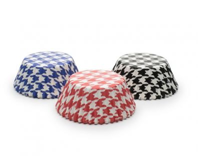 Standard Muffin Cups, Houndstooth