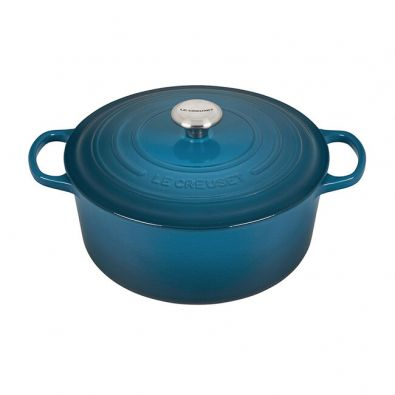 Le Creuset Signature Round Dutch Oven 5.5 Qt Deep Teal