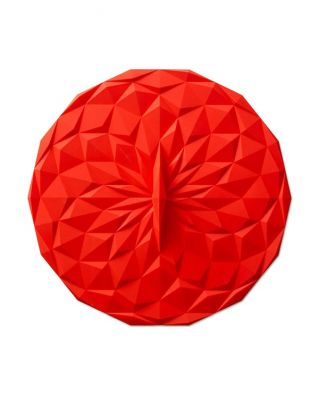 "GIR Round Suction Lid 12.5"" Red"