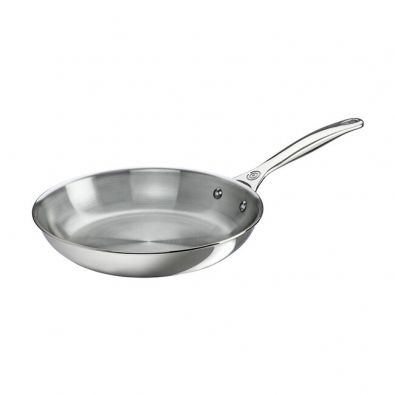 Le Creuset Stainless Steel Fry Pan 12-Inch