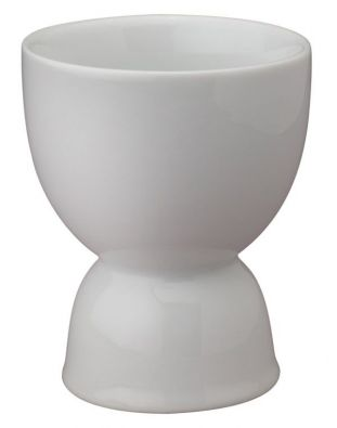 White Porcelain Double Egg Cup