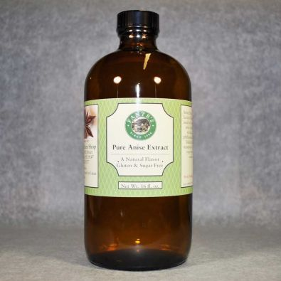 Fante's Pure Anise Extract, 16 Oz
