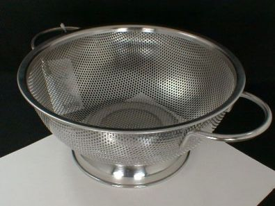 HIC Essentials Perforated Colander, 8.5 in.