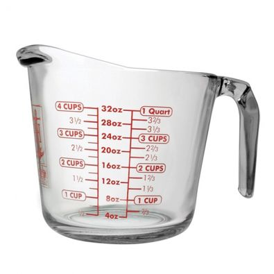 32 oz Anchor Glass Measuring Cup