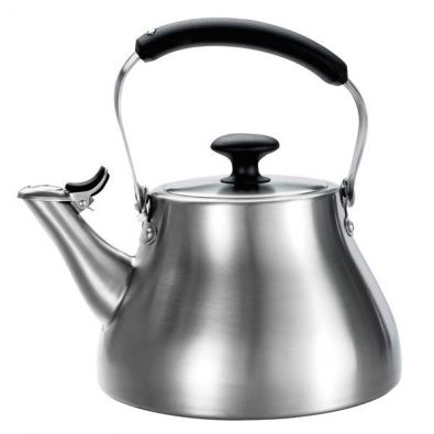 OXO Good Grips Brushed Stainless Steel 1.7 Qt Classic Tea Kettle