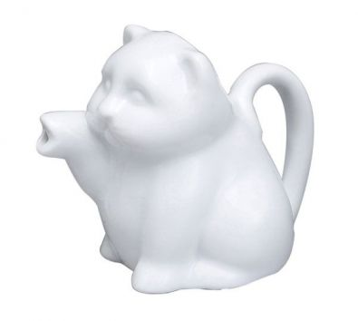 Mini Porcelain Cat Creamer
