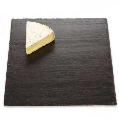 JK Adams Charcoal Slate Cheese Server, 12 x 12 in.