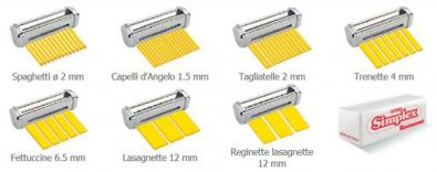 Imperia Restaurant R220 Pasta Machine Cutter, Trenette