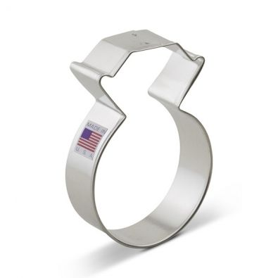Diamond Ring Cookie Cutter 5574A