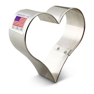 Heart Cookie Cutter, 2.5 in. 7884A