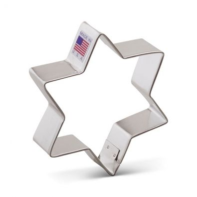 Star of David Cookie Cutter 1267A