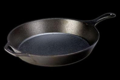 Lodge Logic Pre-Seasoned Cast Iron Skillet, 15.25 in.