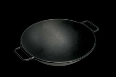Lodge Cast Iron Wok, 14 in.
