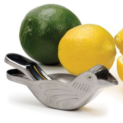 Stainless Steel Bird Citrus Wedge Squeezer