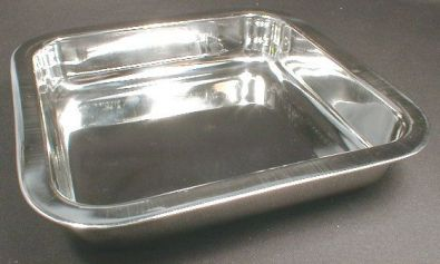 Stainless Steel Square Cake Pan, 8 x 8 x 1.75 in.