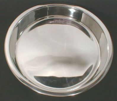 Round Stainless Steel Cake Pan, 9 x 1.5 in.