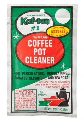 C. G. Whitlock's Kaf-tan #1 Cleaner for Metal Tea and Coffee Pots