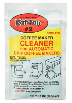 C. G. Whitlock's Kaf-tan #2 Automatic Coffeemaker Cleaner