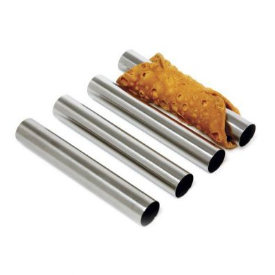 Stainless Steel Large Cannoli Forms, Set of 4