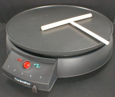 CucinaPro Electric Griddle and Crepe Maker, Nonstick