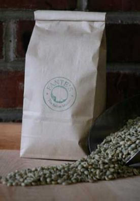 Costa Rican, Unroasted Green Coffee Beans