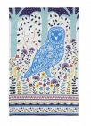 Woodland Owl Cotton Tea Towel