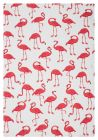 MUkitchen Cotton Dish Towel Flock of Flamingoes