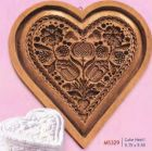 House on the Hill Cake Heart Springerle Mold